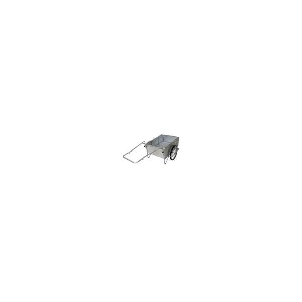 【ポイント5倍】 【直送品】 昭和ブリッジ オールアルミ製折りたたみ式リヤカー SMC-2 【法人向け、個人宅配送不可】 【大型】
