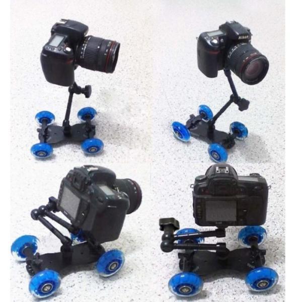 スケートドリー  フレキシブル マジックアーム セット カメラ撮影用移動車
