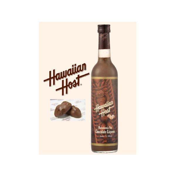 <食感が楽しいリキュール >ハワイアンホーストマカダミアナッツチョコレートリキュール7.0%500ml
