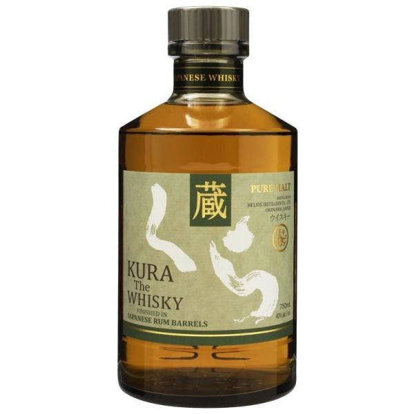 【沖縄産!国産ウイスキー】 蔵 (くら) ザ ウイスキー ラムカスク フィニッシュ 40% 750ml50ml