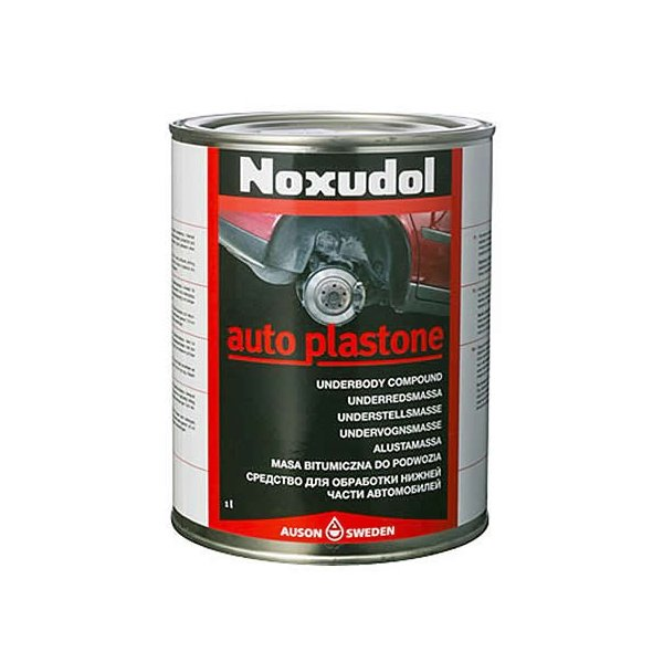あすつく  Noxudol ノックスドール オートプラストーン 1L 刷毛塗りタイプ (HTRC3) 防錆アンダーコート遮音 低溶剤 車 タイヤ