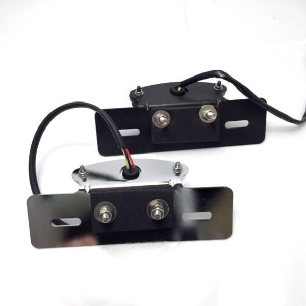 バイク 汎用 LEDミニテールランプ (ブラック) ブレーキ ナンバー灯 マグナ モンキー dream-japan 06