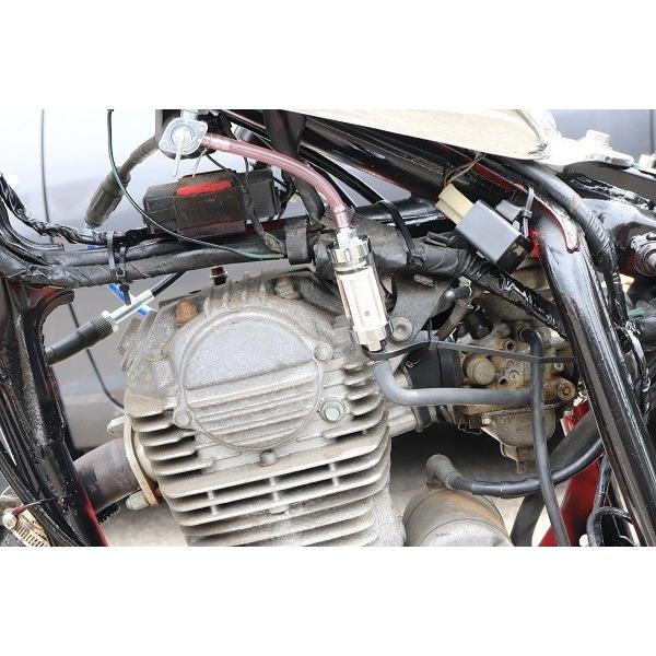 バイク 燃料フィルター(フューエルフィルター)アメリカン ネイキッド 修理  口径6.5mm対応 全長:105mm 【定形外郵便可能】|dream-japan|05