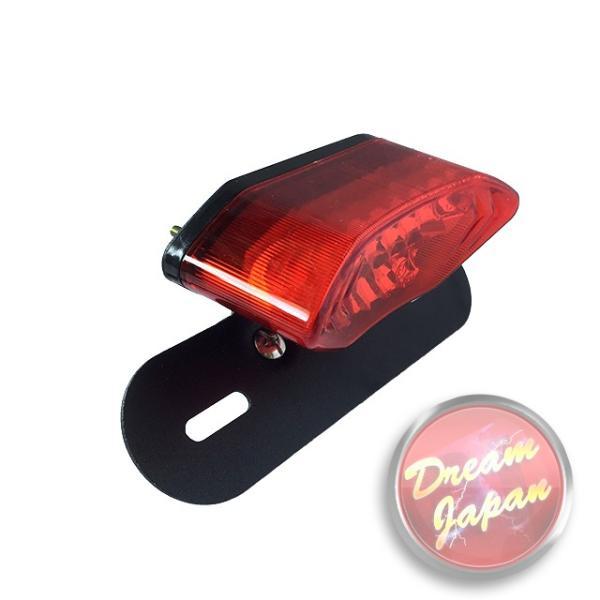 バイク LEDテールランプ ルーカステール LED20発 ウインカー 一体型  ブラック(レンズ選択)汎用/ルーカス/CB/XJ/SR/TW dream-japan 02