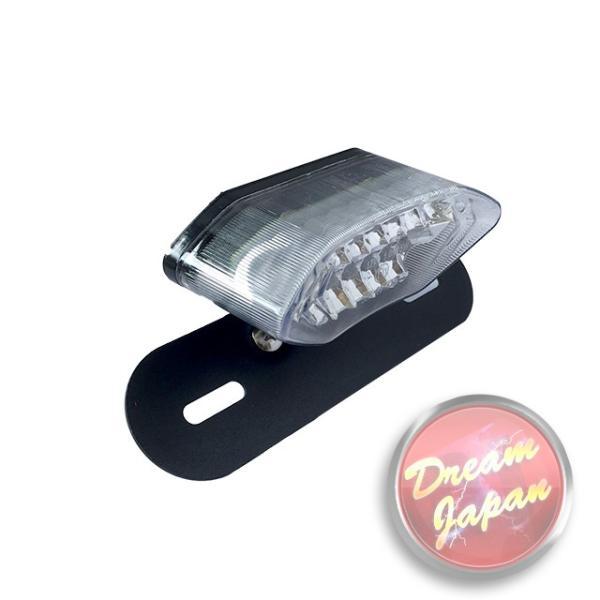 バイク LEDテールランプ ルーカステール LED20発 ウインカー 一体型  ブラック(レンズ選択)汎用/ルーカス/CB/XJ/SR/TW dream-japan 03