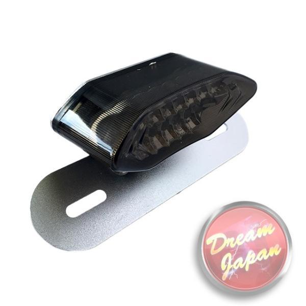 バイク LEDテールランプ ルーカステール LED20発 ウインカー 一体型  シルバー(レンズ選択)汎用/ルーカス/CB/XJ/SR/TW dream-japan 04
