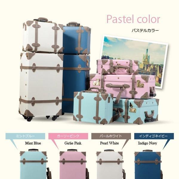 トランク 小型 旅行用品 ショコラ 人気 キャリーバッグ おしゃれ かわいい トランク 小型|dream-shopping|06