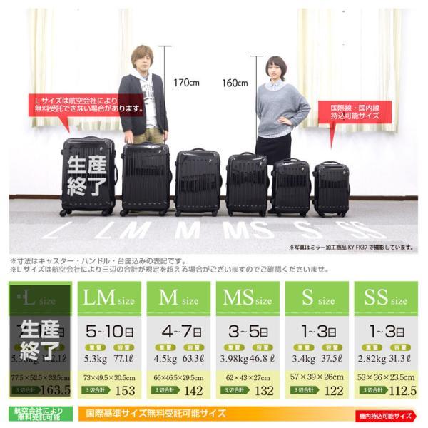 【期間限定1000円OFF!!】スーツケース 人気 大型 軽量 Lサイズ ファスナー スーツケースキャリー ハードケース TSA 旅行用品  1年間保証|dream-shopping|15