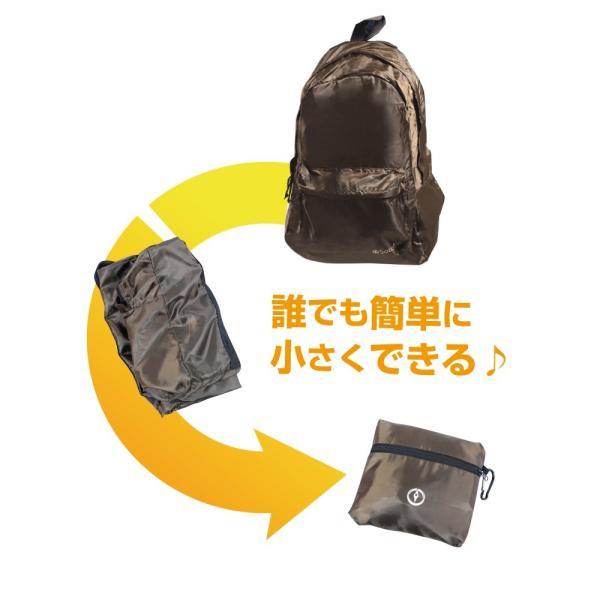 【送料無料】 [アウトレット] 折りたたみリュック 旅先で荷持が増えた時に便利! dream-shopping 05