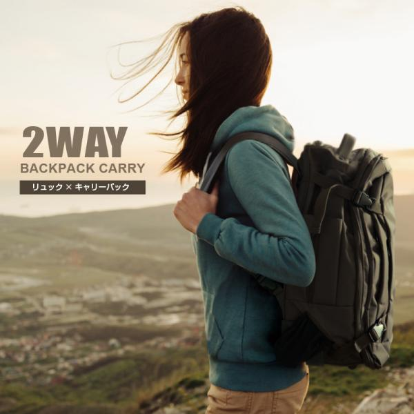 2WAYキャリーバッグ人気機内持ち込みスーツケース超軽量大容量バックパックキャスター付きリュック防災用バッグ
