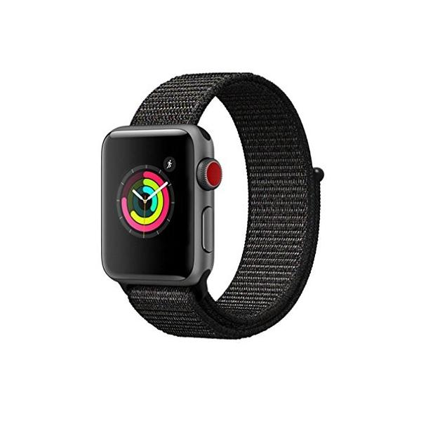 AIGENIU Apple Watch ナイロンスポーツバンド、とても柔らかく通気性があり軽量ですのアップルウォッチ交換バンド|dreamcshop
