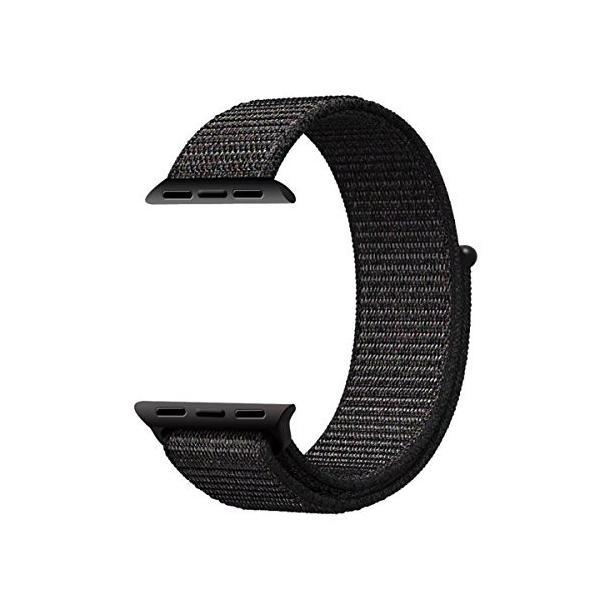 AIGENIU Apple Watch ナイロンスポーツバンド、とても柔らかく通気性があり軽量ですのアップルウォッチ交換バンド|dreamcshop|02