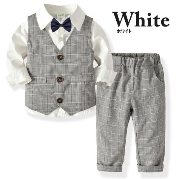 子供 スーツ 4点セット 男の子 ベビー フォーマル スーツ 子供服 赤ちゃん キッズ フォーマル 男の子 80 90 100 110 120 130|dreamkikaku|02
