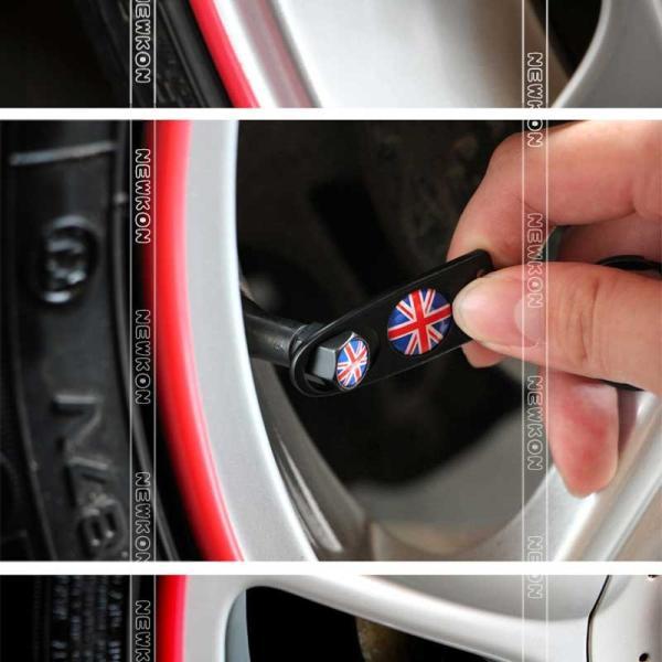 BMW Miniパーツ エアバルブキャップ 4個セット Newkon ネコポス便可|dreamlands|05