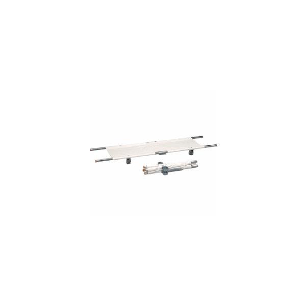 四つ折担架 スチール製(OT-13) 取手伸縮型 送料無料