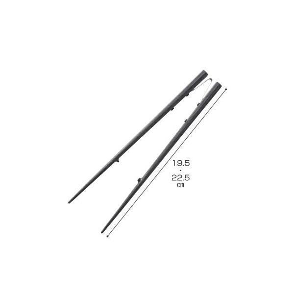 青芳製作所 楽々箸 ピンセットタイプ 樹脂製 介護用箸 食器類