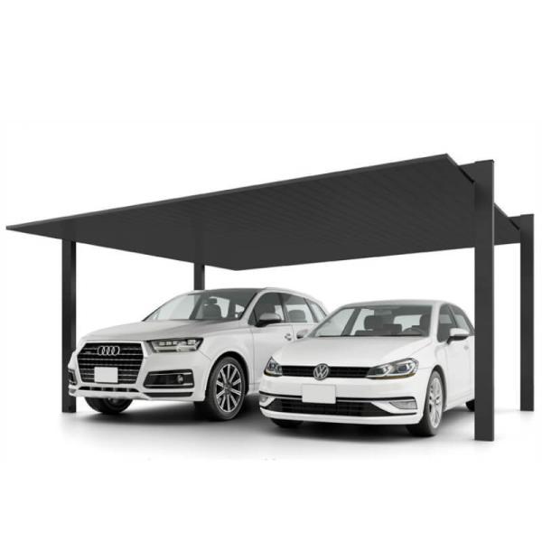 カーポート 2台駐車場 リクシル カーポートSC 2台用(基本) 48-50型 W4808×L5000 アルミ形材屋根材 駐車場 車庫 ガレージ 本体
