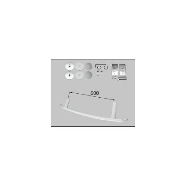 LIXIL/TOSTEM 住器用部品 バスルーム 器具 握りバー・タオル掛け:樹脂製ニギリバー弓型RMEE401 リクシル トステム