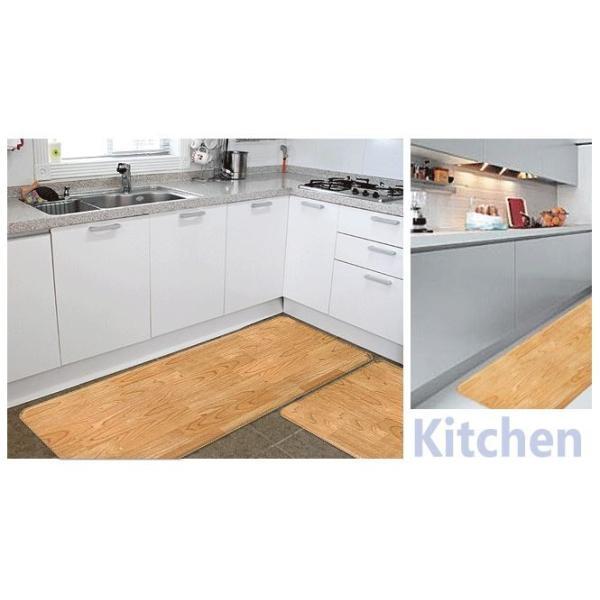 キッチンマット キッチン マット 防水 消臭 おしゃれ 洗える 低反発 120|dreamplaza|04