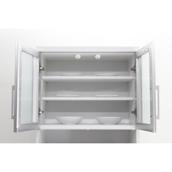 食器棚 レンジ台 レンジボード キッチン収納 完成品 幅70cm モダン風 設置無料 dreamrand 02