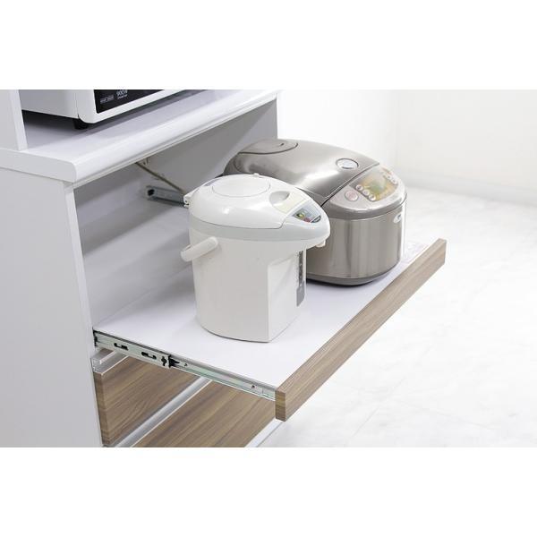 食器棚 レンジ台 レンジボード キッチン収納 完成品 幅70cm モダン風 設置無料 dreamrand 11