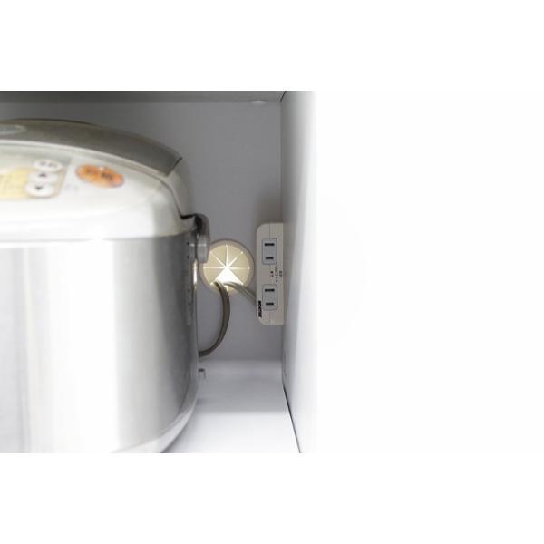 食器棚 レンジ台 レンジボード キッチン収納 完成品 幅70cm モダン風 設置無料 dreamrand 12
