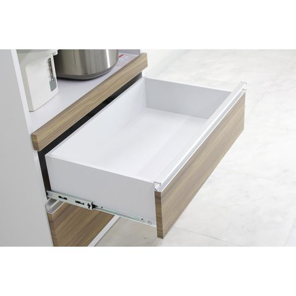 食器棚 レンジ台 レンジボード キッチン収納 完成品 幅70cm モダン風 設置無料 dreamrand 13