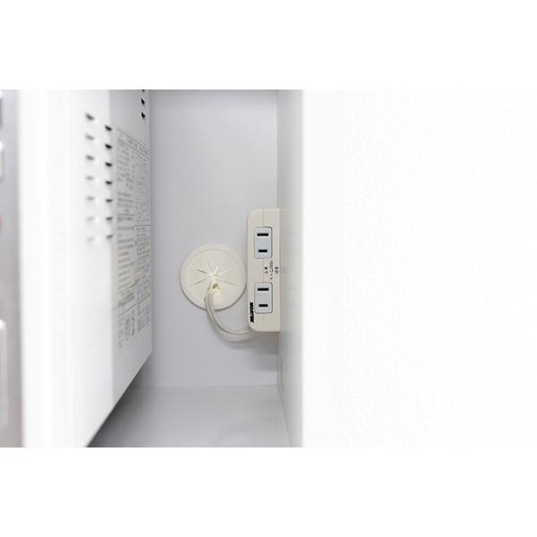 食器棚 レンジ台 レンジボード キッチン収納 完成品 幅70cm モダン風 設置無料 dreamrand 08