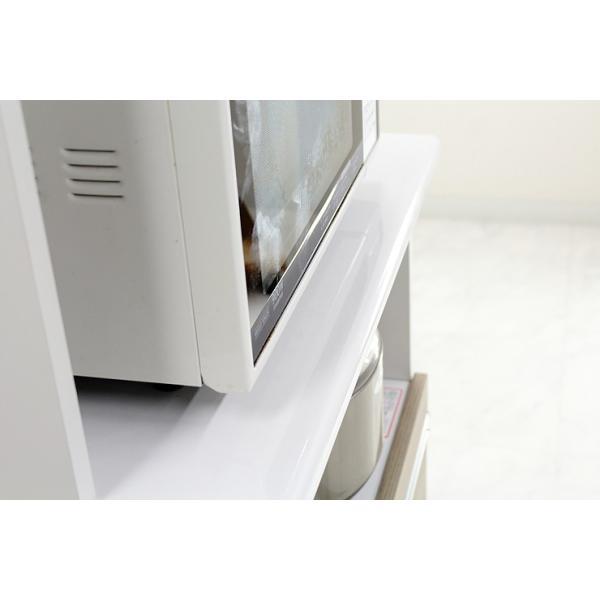 食器棚 レンジ台 レンジボード キッチン収納 完成品 幅70cm モダン風 設置無料 dreamrand 09