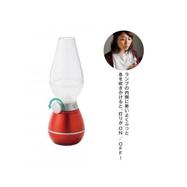 不思議なアンティーク スタイリッシュ! LEDランプ 電池式 息を吹きかけてON/OFFする つまみで調光もできる |dreamrelife-store|05