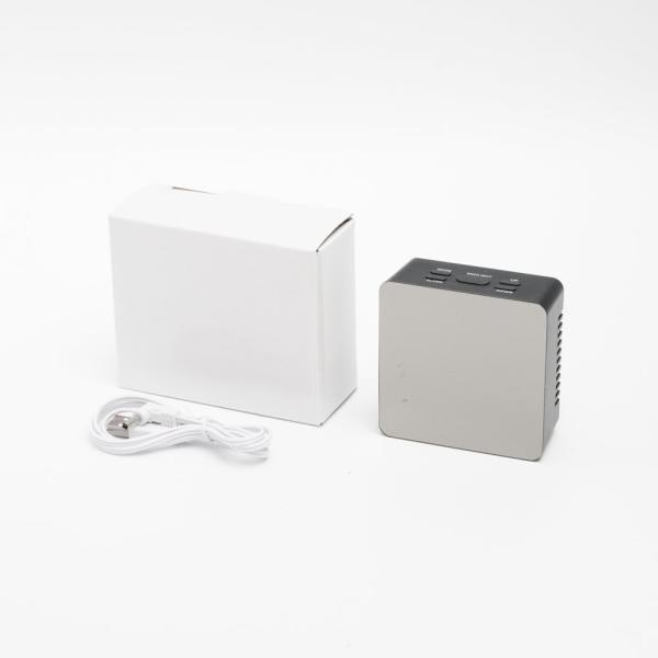 ミラークロック(スクエア) 黒 195747 単4形乾電池3本 時計表示、アラーム&スヌーズ、温度、ミラー、明るさ2段設定、省エネ機能付|dreamrelifeshop2|05