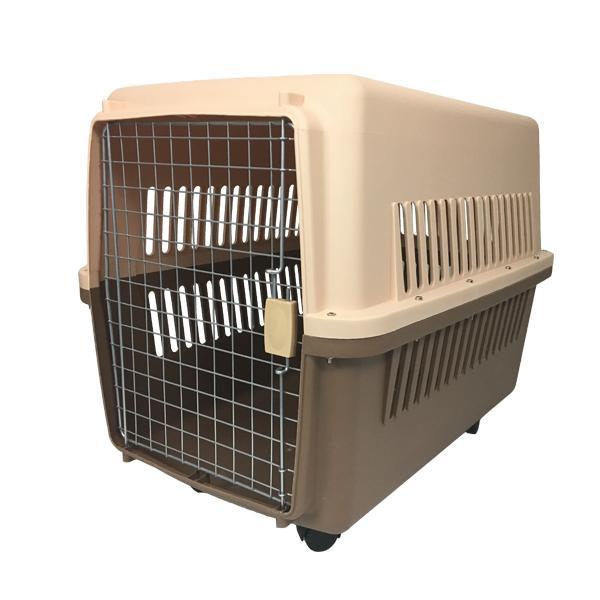 ペットキャリーケース LLサイズ 中型犬・大型犬用 ハードタイプ 81×61×56cm キャスター付き 送料無料