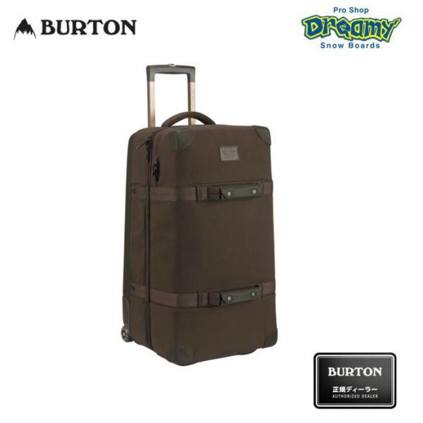 BURTON バートン WHEELIE DOUBLE DECK ウィール ダブルデッキ 容量:86L 149441 50/50オープニング CRAMゾーン キャリー バッグ 2019モデル 正規品