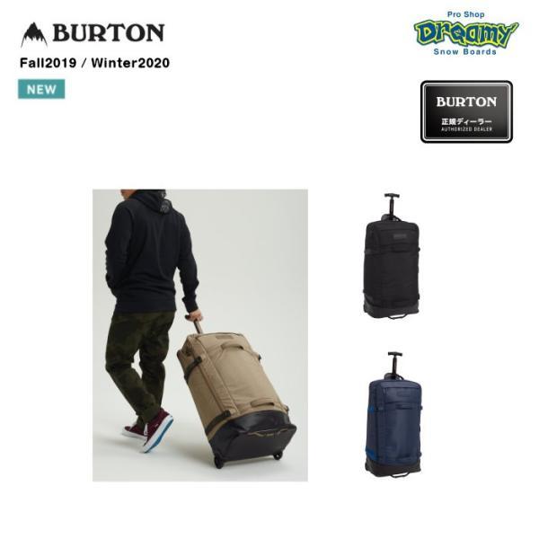 BURTON バートン Multipath Checked Travel Bag 213421 ウィールバッグ 90L プルハンドル 圧縮ストラップ TSA認証ロック対応ジップラー 2019-2020 正規品
