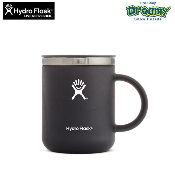 Hydro Flask ハイドロフラスク 12 oz Coffee Mug #5089231 20 Black 354ml ステンレス マグカップ 真空断熱構造 パウダーコーティング アウトドア マイカップ