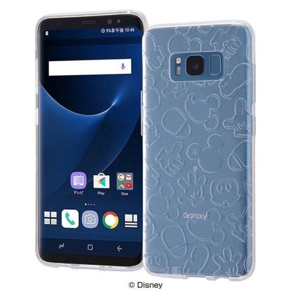 5870350679 Galaxy S8 SC-02J/SCV36 ギャラクシーS8 ケース カバー ディズニーキャラクター TPUソフトケース ...