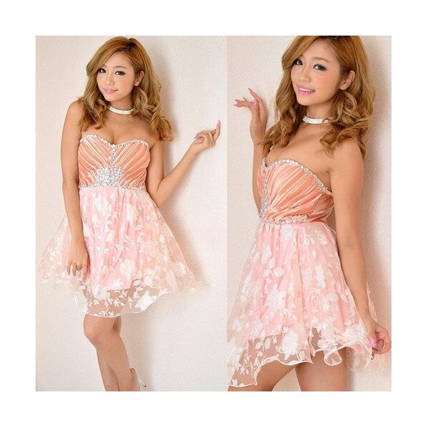 1ac5d772f8624 ... Dress Angelo ドレス キャバ ドレスキャバ ナイトドレス パーティードレスラメ入りローズレースビジュープリンセス ...
