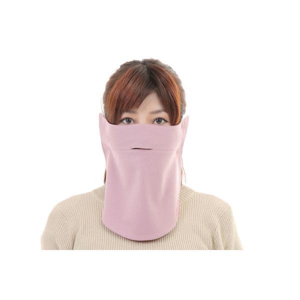 UVカットフェイスマスク 紫外線防止用ドレスマスク お肌に優しいストレスフリー スリット開楽呼吸 光触媒・高機能素材二重仕立 プライムローズ/ピンクフランベ|dressmask-drema|03