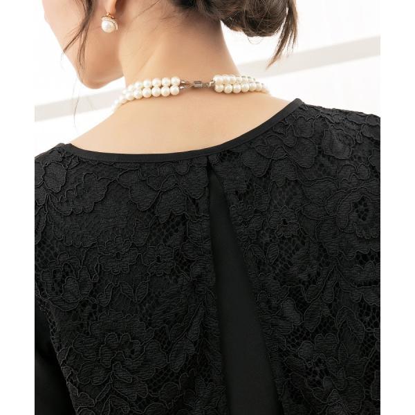卒業式 卒園式 パンツドレス 結婚式 袖あり 大きいサイズ レース レディース ワイド パーティー ドレス セットアップ|dressstar|16