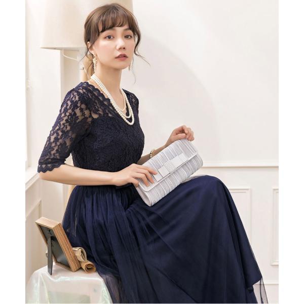パーティードレス ロング ドレス 結婚式 お呼ばれ ワンピース オールインワン 大きいサイズ お呼ばれ マキシ|dressstar|11