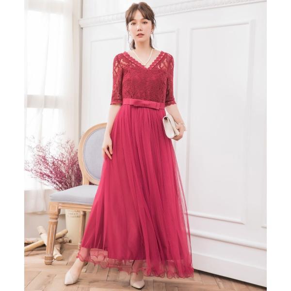 パーティードレス ロング ドレス 結婚式 お呼ばれ ワンピース オールインワン 大きいサイズ お呼ばれ マキシ|dressstar|12