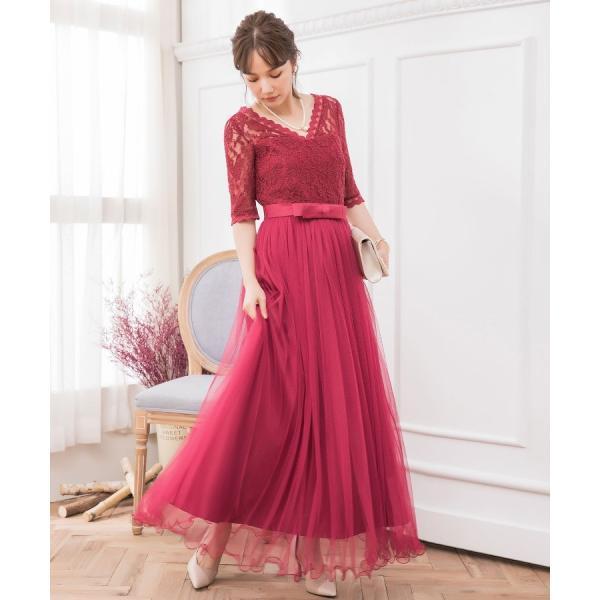 パーティードレス ロング ドレス 結婚式 お呼ばれ ワンピース オールインワン 大きいサイズ お呼ばれ マキシ|dressstar|13