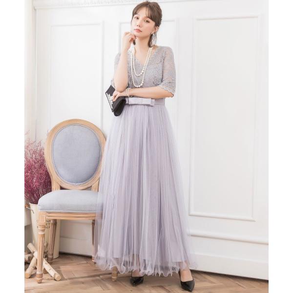 パーティードレス ロング ドレス 結婚式 お呼ばれ ワンピース オールインワン 大きいサイズ お呼ばれ マキシ|dressstar|04