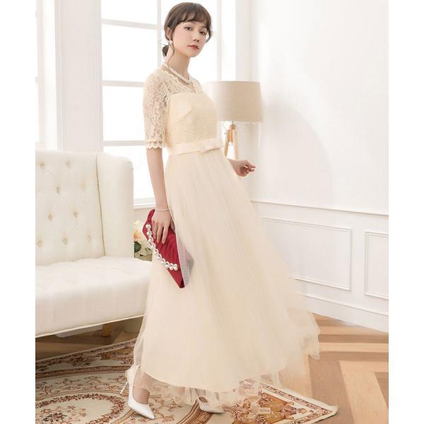 パーティードレス ロング ドレス 結婚式 お呼ばれ ワンピース オールインワン 大きいサイズ お呼ばれ マキシ|dressstar|08