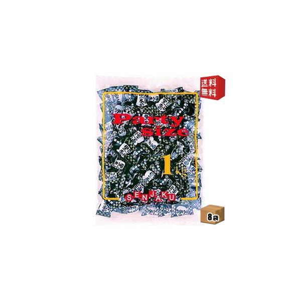 送料無料 扇雀飴本舗 1kg黒あめ 1kg×8袋