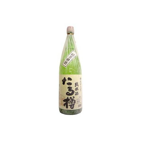 やたがらす(八咫鳥) たる樽 純米樽酒 1.8L瓶 1本 【北岡本店・奈良地酒】
