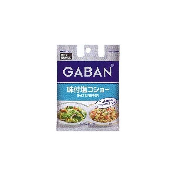 GABAN 味塩コショー 詰め替え用 (90g) 1個 322-2302-749