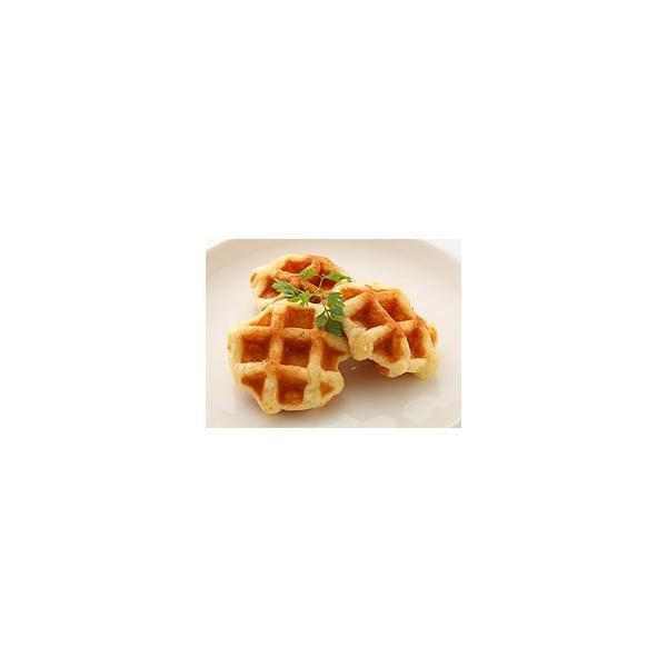 日本リッチ)ベルギーワッフル焼 180g(10個) クール [冷凍] 便にてお届け 【業務用食品館 冷凍】