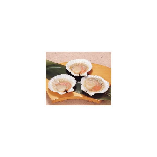 ホタテ片貝 10枚入 クール [冷凍] 便にてお届け 【業務用食品館 冷凍】