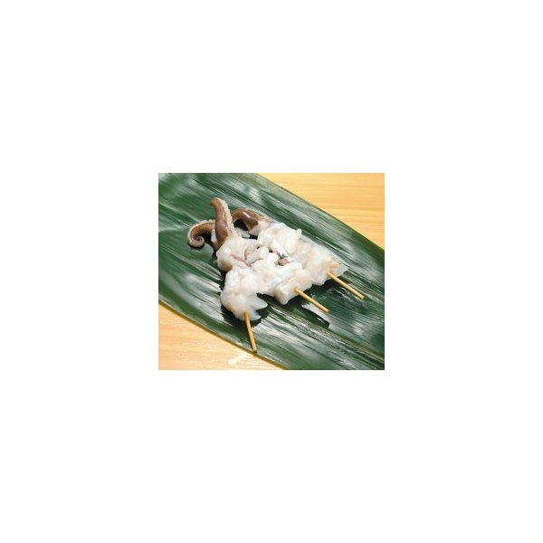 紋甲イカ下足串 約40g×10本入 クール [冷凍] 便にてお届け 【業務用食品館 冷凍】